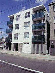 北海道札幌市北区北十七条西1の賃貸マンションの外観