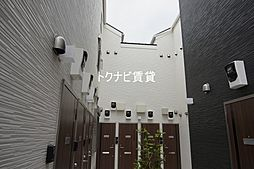 東京都世田谷区祖師谷3丁目の賃貸アパートの外観
