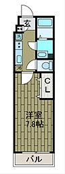 神奈川県相模原市中央区共和3丁目の賃貸マンションの間取り