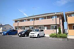 栃木県鹿沼市栄町3の賃貸アパートの外観