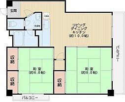 練木ビル[8階]の間取り