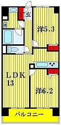 東京都荒川区南千住3丁目の賃貸マンションの間取り