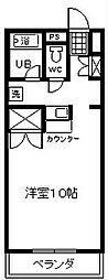 ソフィアライト[2-F号室]の間取り