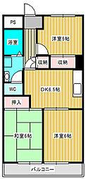 第3ロイヤルマンション[2階]の間取り