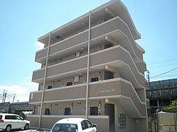 愛知県安城市古井町北芝崎の賃貸マンションの外観