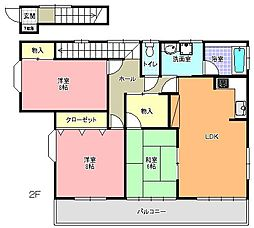 [一戸建] 茨城県水戸市見川5丁目 の賃貸【茨城県 / 水戸市】の間取り