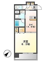 グランエターナ名古屋鶴舞[3階]の間取り