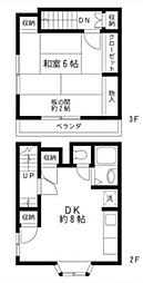[一戸建] 埼玉県さいたま市中央区新中里4丁目 の賃貸【/】の間取り