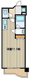 SYUWA BLD HIBARIGAOKA[5階]の間取り
