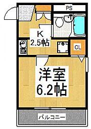 TSTウェル[1階]の間取り