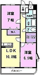 ベル・アンジュ[301号室]の間取り