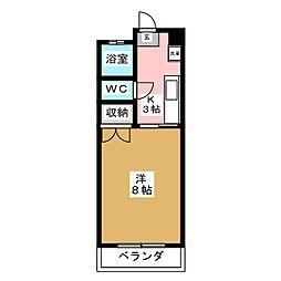 第三佐藤コーポ[1階]の間取り