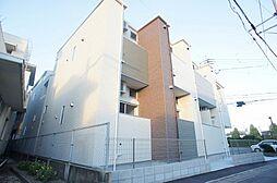 福岡県福岡市中央区六本松4丁目の賃貸アパートの外観