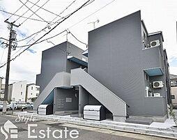 愛知県名古屋市中村区稲上町4丁目の賃貸アパートの外観