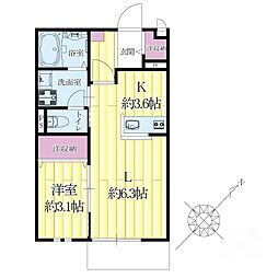 マルベリーハウス[2階]の間取り
