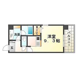 SK尼崎東[5階]の間取り