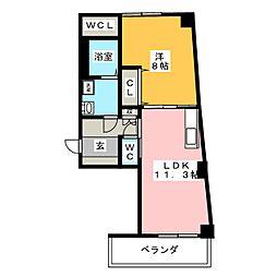 光田参番館[2階]の間取り