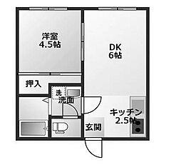 アーバンライフ2[1階]の間取り