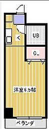 ジュネパレス松戸第41[4階]の間取り