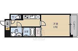 Osaka Metro中央線 深江橋駅 徒歩4分の賃貸マンション 8階1Kの間取り