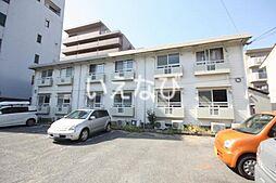岡山県岡山市北区下中野の賃貸アパートの外観