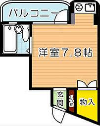 内山第27ビル[205号室]の外観