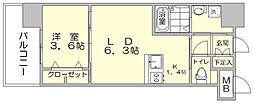 アルファシオ ディ クレイヴ[11階]の間取り