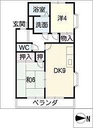 メゾンK[2階]の間取り