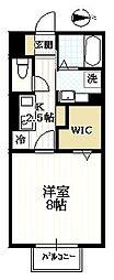 ロワジール3[1階]の間取り