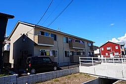 愛知県西尾市新在家町中屋下の賃貸アパートの外観