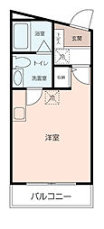 DEN鷹取II[2階]の間取り