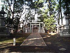その他伊藤博文公墓所まで693m