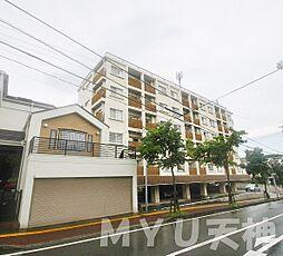 福岡県福岡市中央区平和3丁目の賃貸マンションの外観