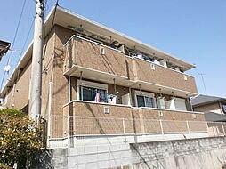 埼玉県所沢市北野1丁目の賃貸アパートの外観