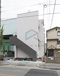 大阪府東大阪市川田3丁目の賃貸アパートの外観