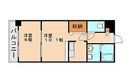 メディオ21[2階]の間取り
