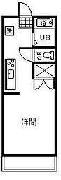 サンコート神宮東[3号室]の間取り