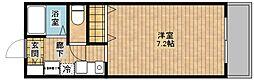 カーサ御崎[2階]の間取り