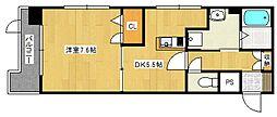 ユウメイトビル[3階]の間取り