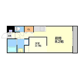 Roxana Residence[3階]の間取り