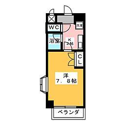 ミレニアム熱田[6階]の間取り