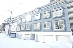 北海道札幌市東区北四十七条東18丁目の賃貸アパートの外観