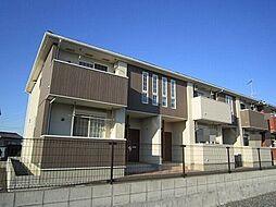 茨城県石岡市石岡の賃貸アパートの外観