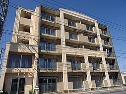 東京都日野市東豊田1丁目の賃貸マンションの外観