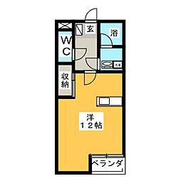 KDレジデンスIII[2階]の間取り