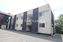 岡山県岡山市北区西崎本町の賃貸マンションの外観