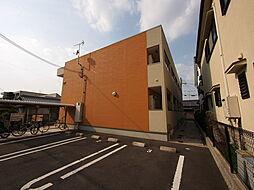 奈良県奈良市芝辻町2丁目の賃貸アパートの外観