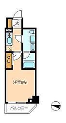 メインステージ松戸[10階]の間取り
