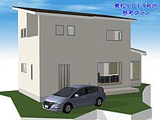 建物プラン例:建物価格1617万円、建物面積92.57平米 (車は含みません)