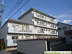 羽曳山第二サンハイツ[4階]の外観